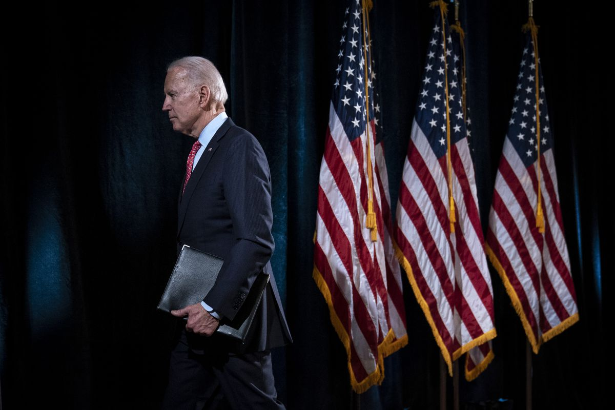 Joe Biden is a Coward – he should be side by side with protesters demanding the….