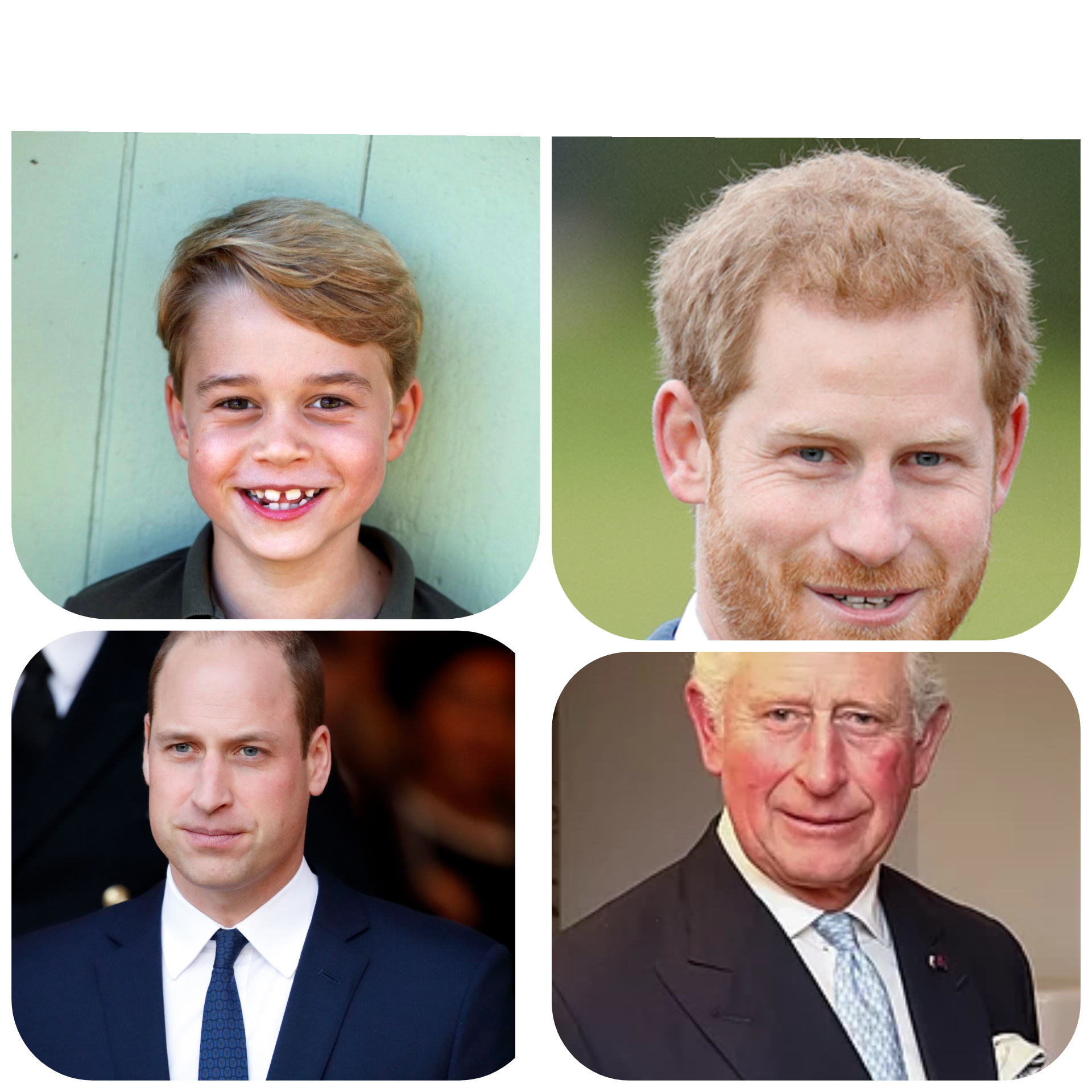 Prince George, Prince Harry, Prince William every day in the Press – Does this sound Just or Fair to you in any way? – Wake up now. And Boycott MEDIA MONOPOLIES for a Better future