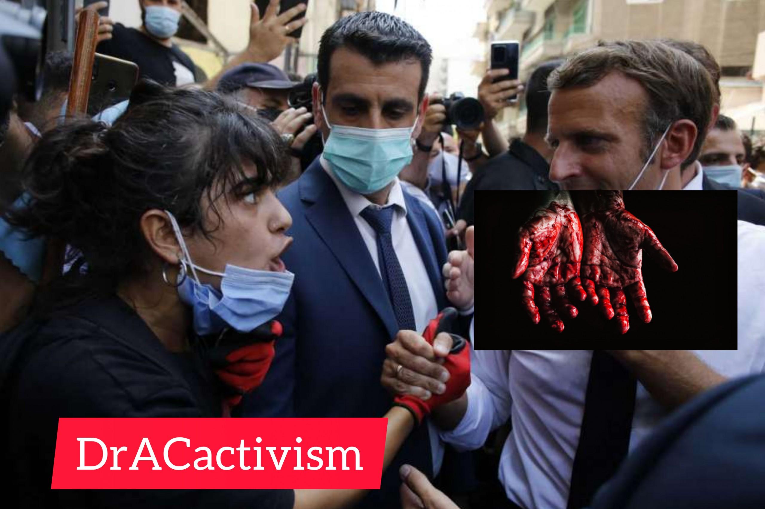 Emmanuel Macron Visits Lebanon to Cover his War Cr…