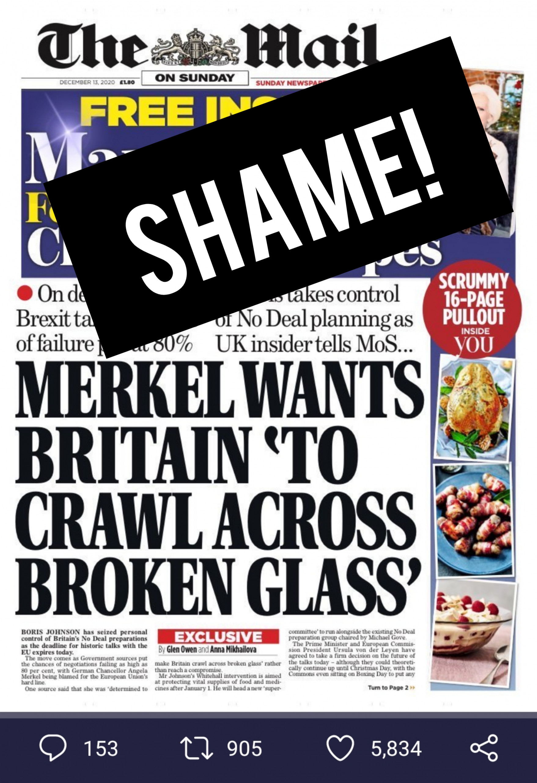 """Brexit – The Witch-like Thinking of the British Politics is Shifting the Blame from Eurasia to…. """"MILLIONAIRE MEDIA PROPAGANDA"""""""