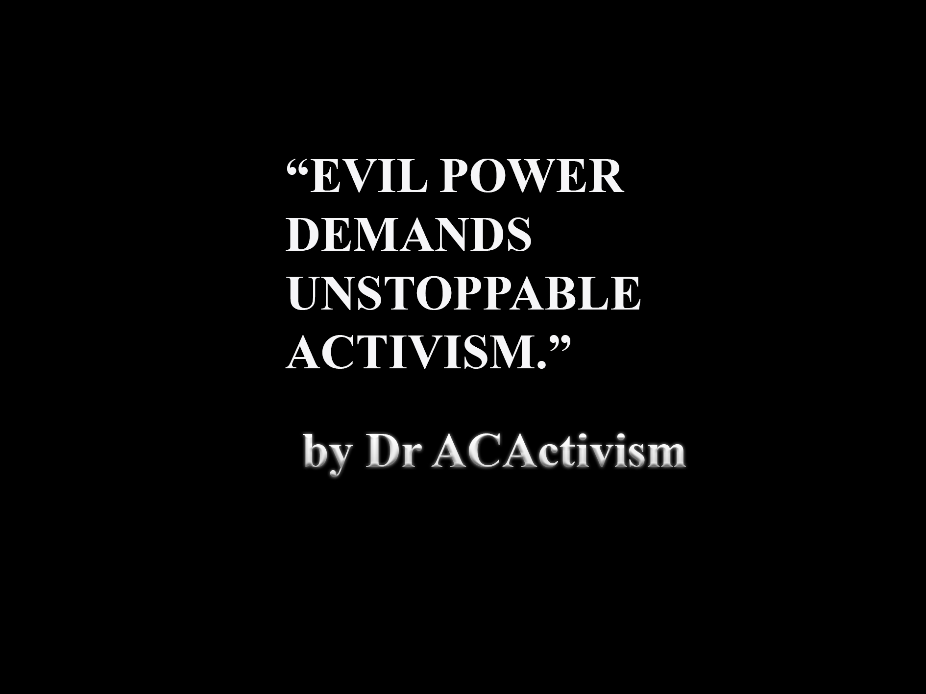 The Future Speaks Clearly of ACTIVISM. Hyper Capitalism has created MONOPOLISTIC MONSTERS in all walks of Life. So future GENERATIONS have the choice to die fighting for SOCIAL JUSTICE or die like Oppressed slaves plunged into depression and abuse of all forms. That is suicide.